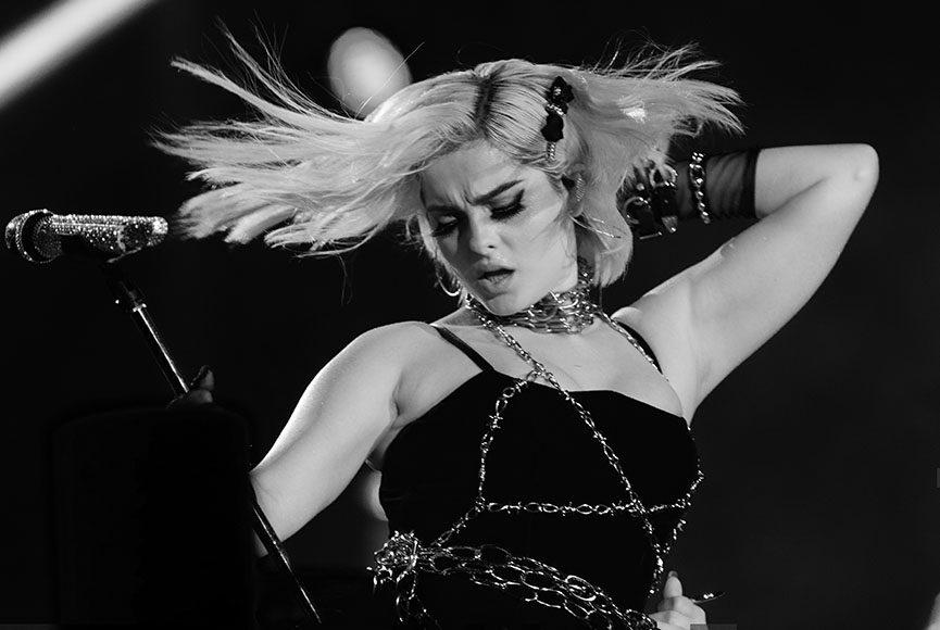 Show da Bebe Rexha no palco Mundo no primeiro dia do festival Rock in Rio 2019 nesta sexta-feira (27/09), no Parque Olímpico, zona oeste do Rio de Janeiro.  O festival acontece no fim de semana, de 27 a 29 de setembro e de 03 a 06 de outubro.